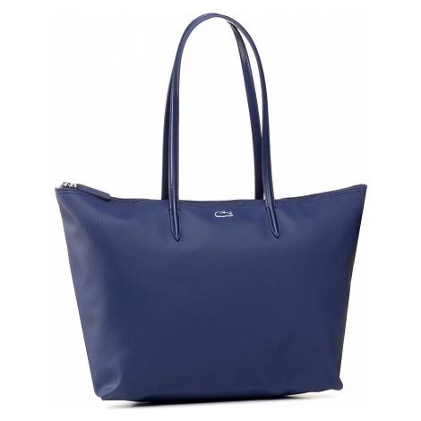 Torebka LACOSTE - L Shopping Bag NF1888PO Blue Depths D55