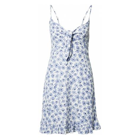 Cotton On Letnia sukienka 'Kiara' biały / jasnoniebieski