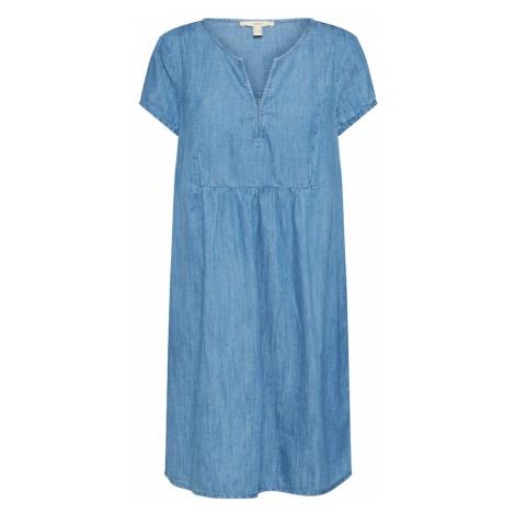 ESPRIT Sukienka niebieski denim / jasnoniebieski