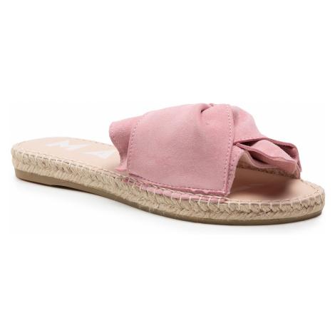 Espadryle MANEBI - Sandals With Knot M 1.4 JK Pastele Rose