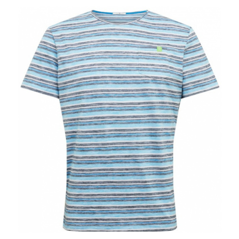 TOM TAILOR Koszulka niebieski / jasnoniebieski / biały / goryczka