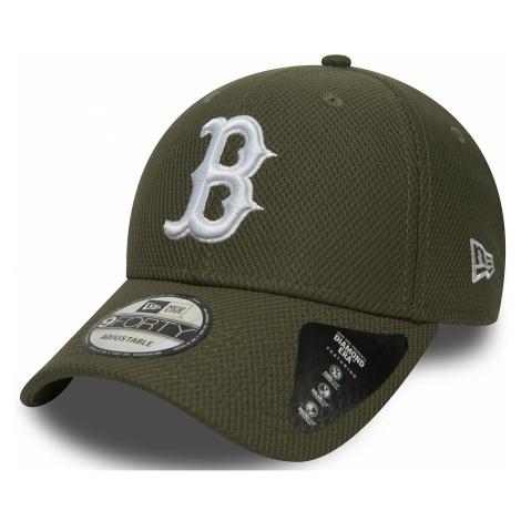 czapka z daszkiem New Era 9FO Diamond EraMLB Boston Red Sox - New Olive/White