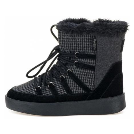 Pepe Jeans buty zimowe damskie Brixton Snow 39 ciemnoszary