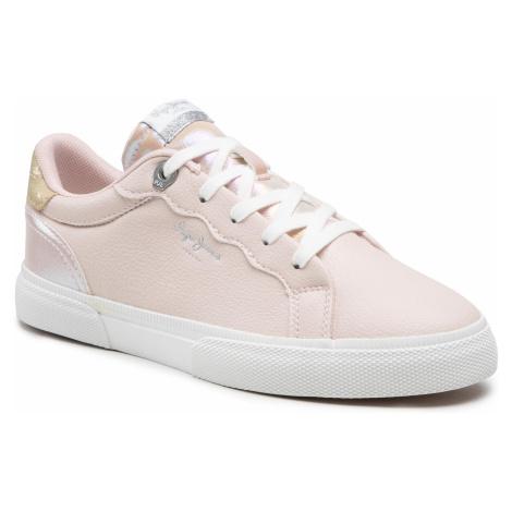 Sneakersy PEPE JEANS - Kenton Supra PLS31172 Pale Pink 300