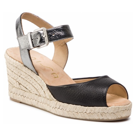 Espadryle UNISA - City Sty Mer Blk/Steel Softy