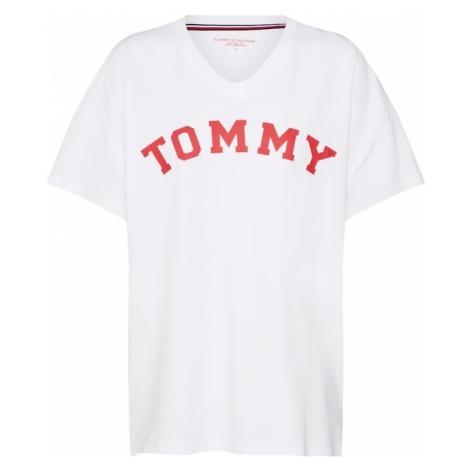Tommy Hilfiger Underwear Koszulka do spania czerwony / biały