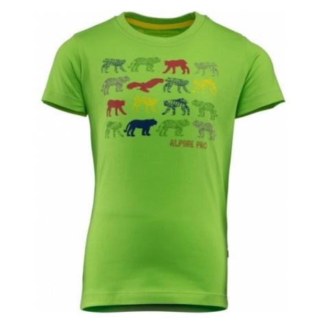 ALPINE PRO HALLO - Koszulka dziecięca