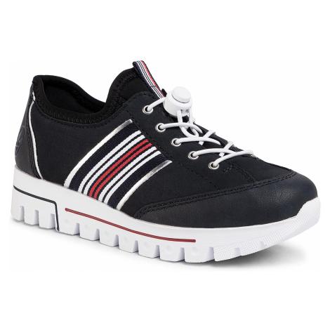 Sneakersy RIEKER - L2860-14 Blau