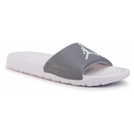 Klapki NIKE - Jordan Break Slide AR6374 012 Cool Grey/White