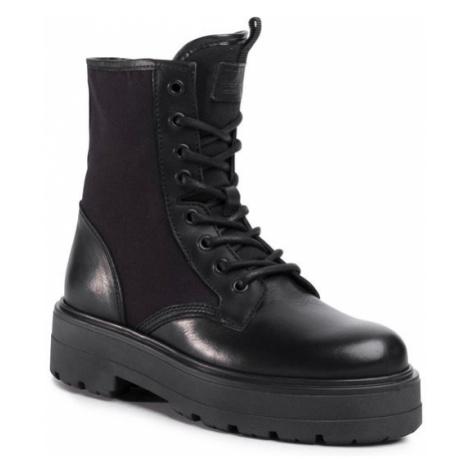 Tommy Jeans Trapery Flatform Boot EN0EN00869 Czarny