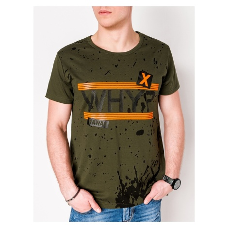 Ombre Clothing Men's printed t-shirt S1087