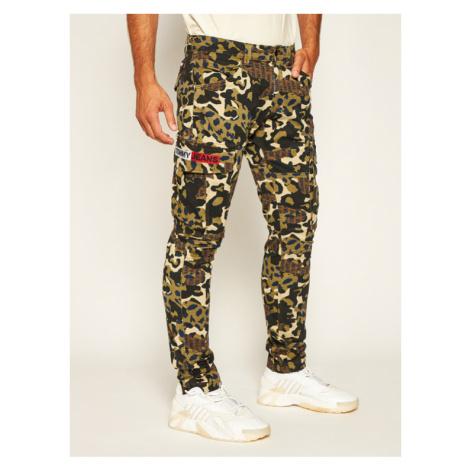 Tommy Jeans Spodnie materiałowe Tjm Scanton Cargo DM0DM07827 Zielony Slim Fit Tommy Hilfiger