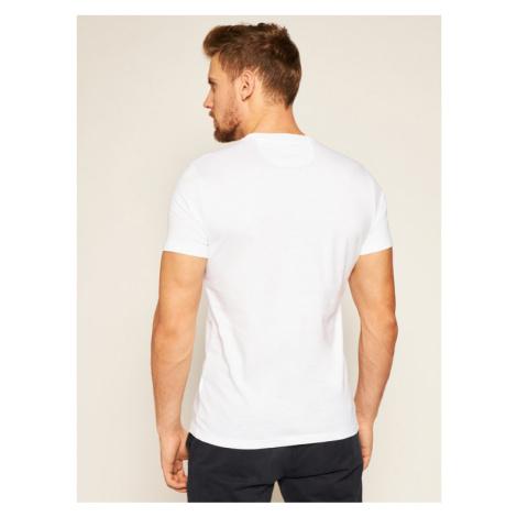 La Martina T-Shirt QMR312 JS206 Biały Regular Fit