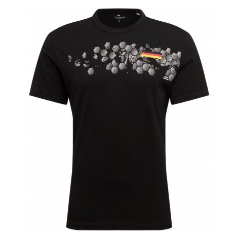 TOM TAILOR Koszulka 'EM' czarny / mieszane kolory
