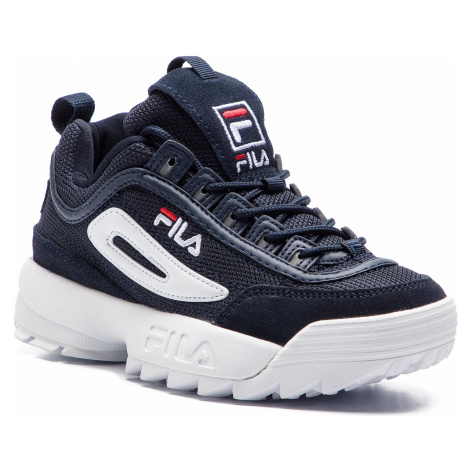 Sneakersy FILA - Disruptor Mesh Low Wmn 1010438.29Y Dress Blue