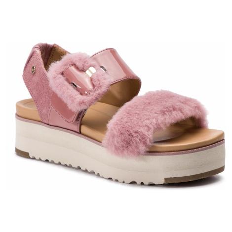 Sandały UGG - W Fluff Chella 1099815 W/Pdw