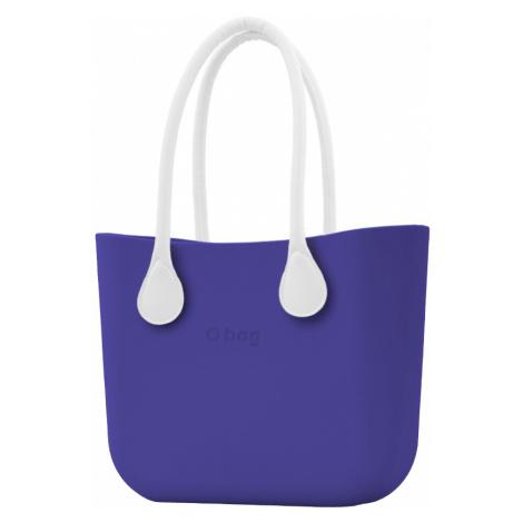 O bag torebka Iris z długimi białymi uchwytami ze skajki
