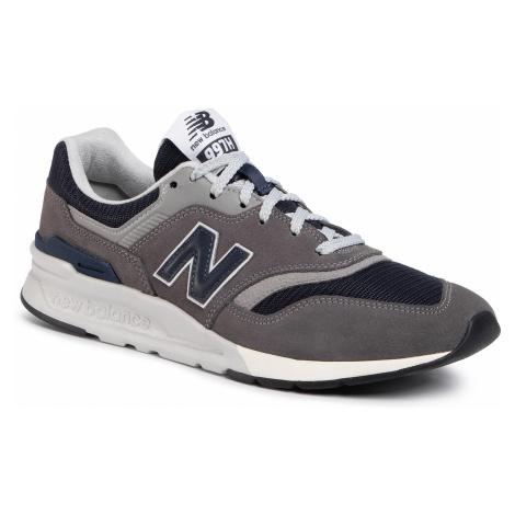 Sneakersy NEW BALANCE - CM997HAX Szary