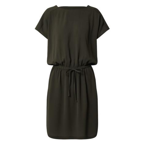 ONLY Sukienka 'onlMARIANA MYRINA S/S DETAIL DRESS WVN' antracytowy