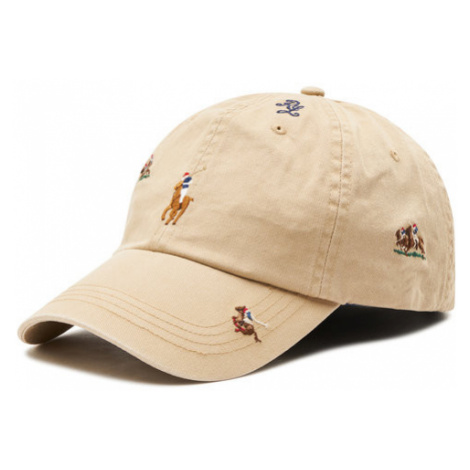 Polo Ralph Lauren Czapka z daszkiem Classic Sport Cap 710823502001 Beżowy