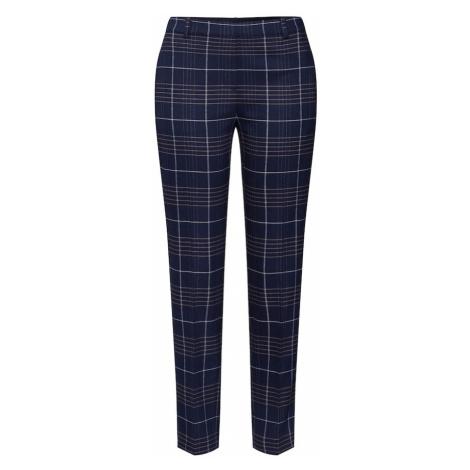 Marc O'Polo Spodnie 'Torup' ciemny niebieski / brązowy / biały