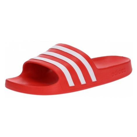 ADIDAS ORIGINALS Klapki 'Adilette Aqua' czerwony / biały