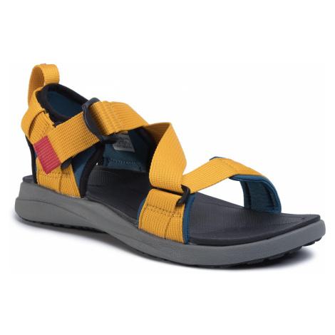 Sandały COLUMBIA - Sandal BM0102 Petrol Blue/Golden Yellow 403