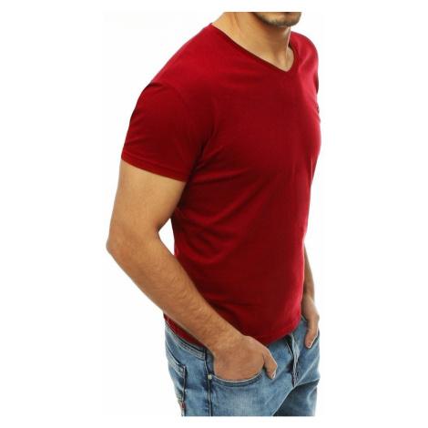 Koszulka męska RX4241 z czerwonymi mężczyznami DStreet