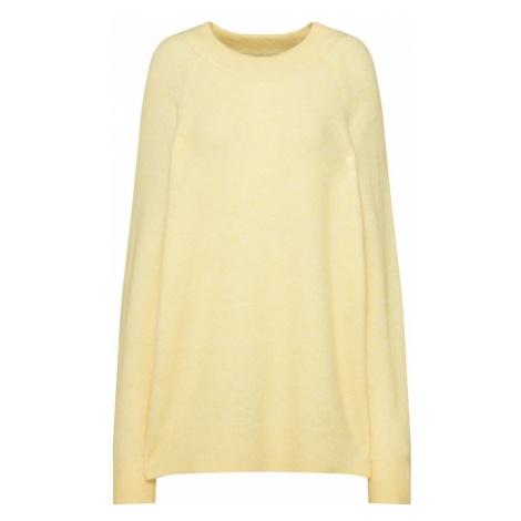 Samsoe & Samsoe Sweter oversize 'Nouri o-n 7355' żółty