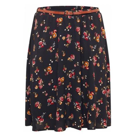 ABOUT YOU Curvy Spódnica 'Lali' musztardowy / czarny / czerwony