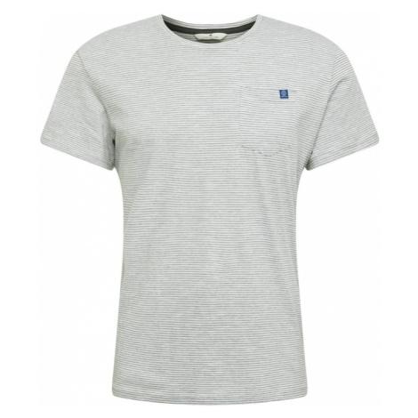 TOM TAILOR Koszulka biały / szary
