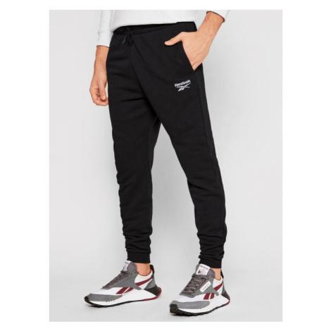 Reebok Spodnie dresowe Identity GJ0554 Czarny Regular Fit