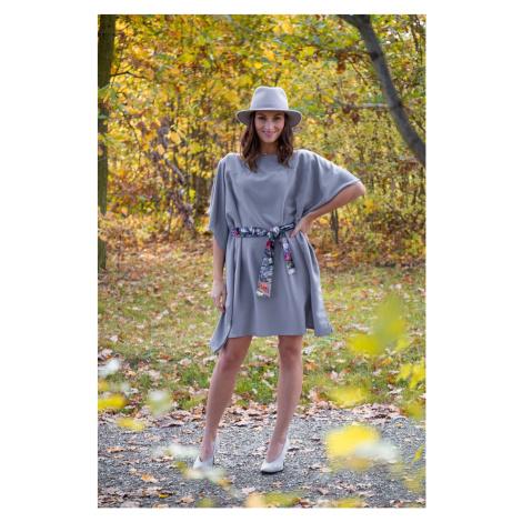Simpo szara sukienka Waterfall Grey