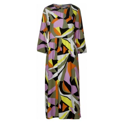 STREET ONE Sukienka fioletowy / żółty / szary / biały / pomarańczowy