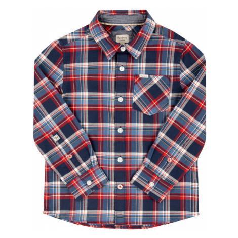 Pepe Jeans Koszula Lamar PB301821 Granatowy Regular Fit