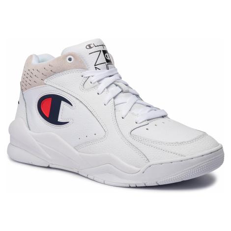 Sneakersy CHAMPION - Zone Mid S20878-F19-WW001 Wht