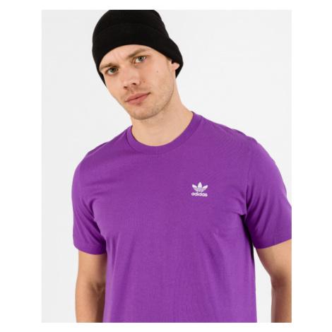 adidas Originals Essential Trefoil Koszulka Fioletowy