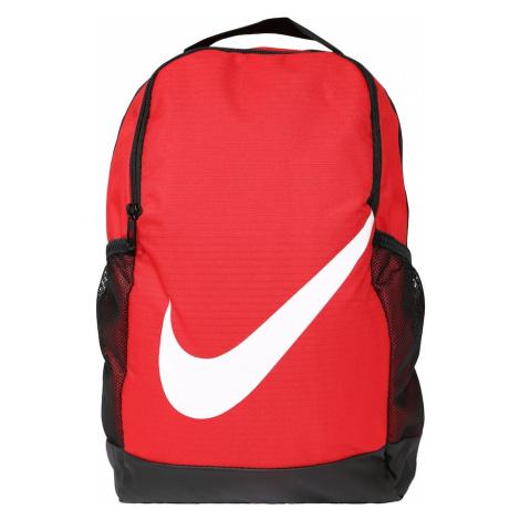 Nike Sportswear Plecak czerwony / czarny / biały