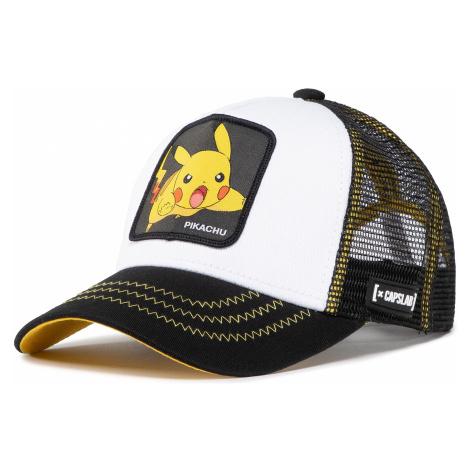 Czapka z daszkiem CAPSLAB - Pokemon Pikachu CL/PKM2/3/PIK5 Blanc