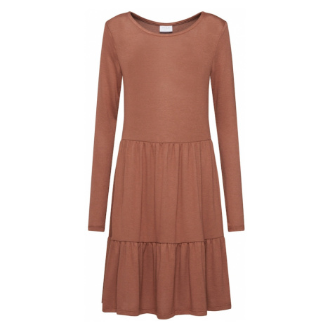 VILA Sukienka 'SUELITA' jasnobrązowy