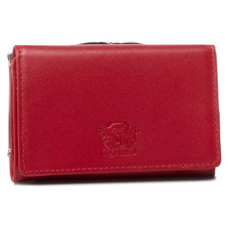 Mały Portfel Damski STEFANIA - 011D/CIE Czerwony