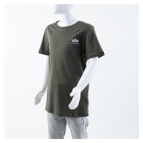 Koszulka dziecięca Alpha Industries Basic T Small Logo Kids/Teens 196704 142