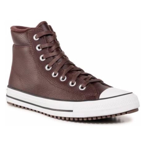 Converse Trampki Ctas Pc Boot Hi 168868C Brązowy