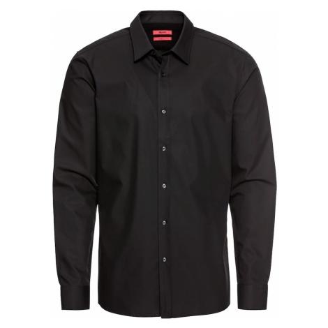 HUGO Koszula biznesowa 'Elisha01 10181991 04' czarny Hugo Boss