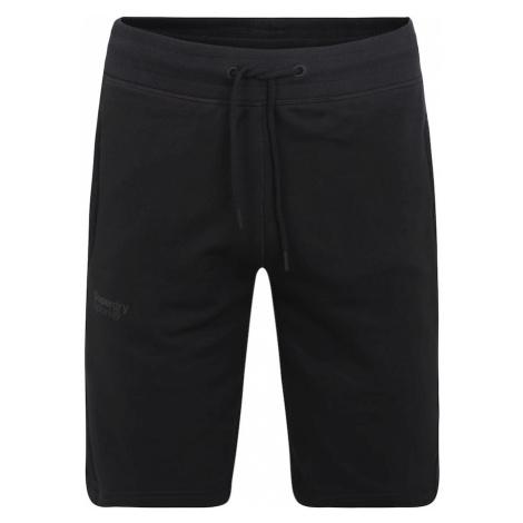 Superdry Spodnie sportowe 'Core Sport' czarny