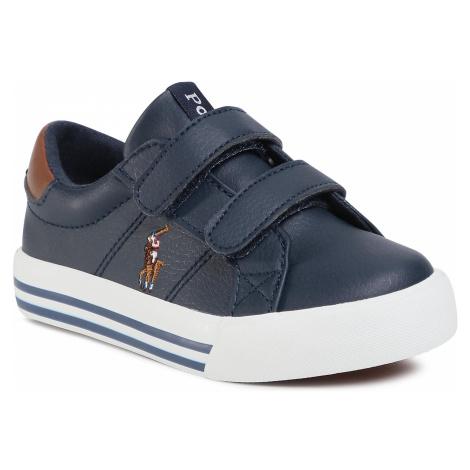 Sneakersy POLO RALPH LAUREN - Toddler RF102508 Navy/Tan