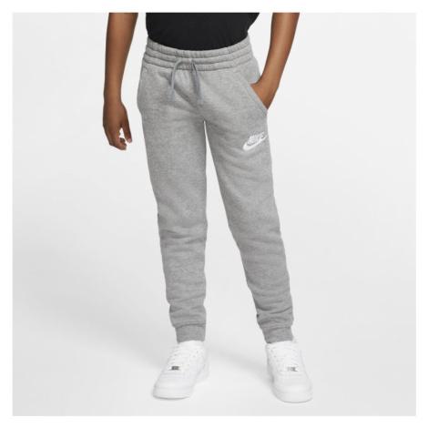 Spodnie dla dużych dzieci Nike Sportswear Club Fleece - Szary