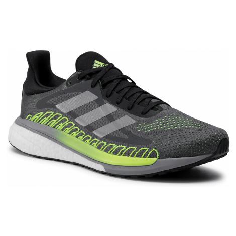 Buty adidas - Solar Glide St 3 M FU9035 Grey Five/Silver Metallic/Signal Green