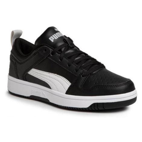 Puma Sneakersy Rebound Layup Lo Sl Jr 370490 02 Czarny