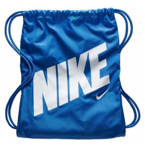 Nike Y GYMSACK - AOP niebieski NS - Worek sportowy dziecięcy